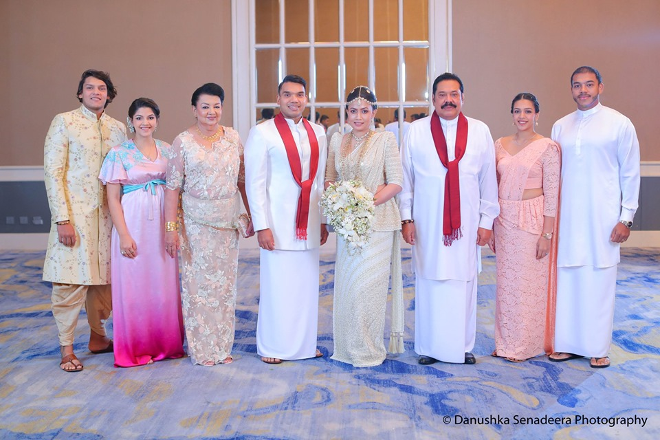 namal-wedding-mahinda-family
