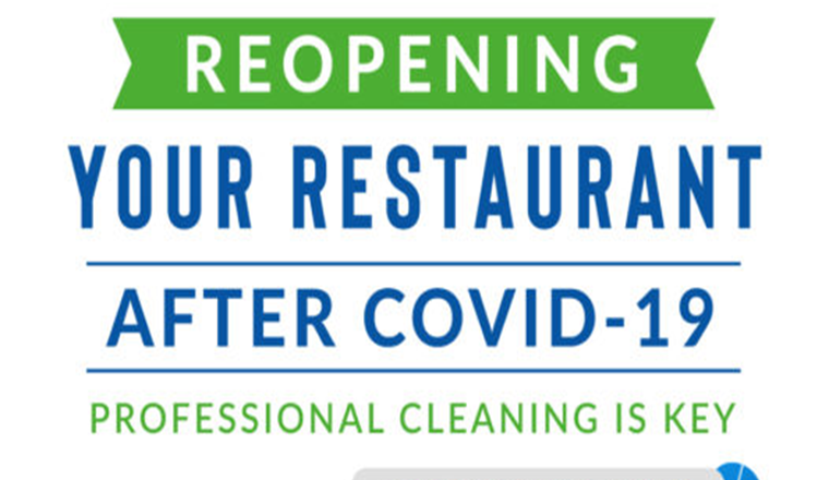 Reopening Your Restaurant After COVID-19: Professional Cleaning Is Key #infographic