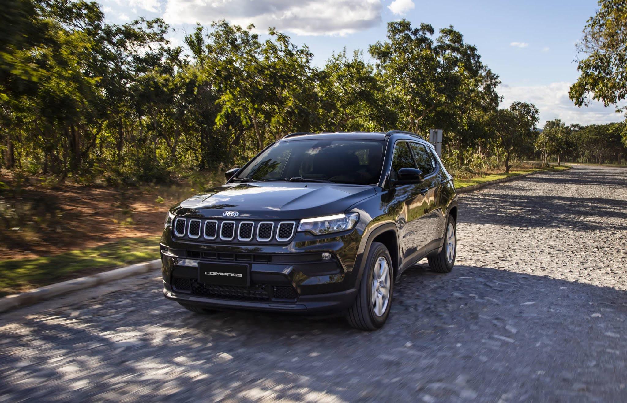 Jeep Compass 2022 - 7º carro mais vendido do Brasil em 2021