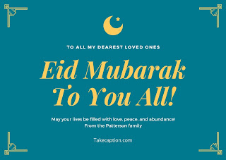 65+ [Best] Eid mubarak captions for Instagram