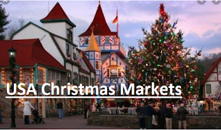 USA Christmas Markets LIVE – Best Markets to Shop from in the USA this Christmas