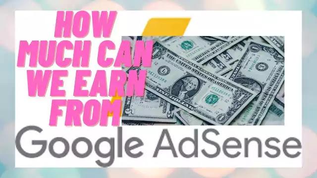 earning from google adsense