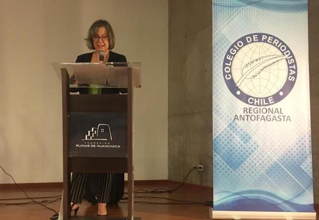 """Margarita Pastene, presidenta del Colegio de Periodistas: """"Proponemos incorporar el Derecho a la Comunicación en una nueva Constitución para Chile, como principio fundamental de una sociedad democrática"""""""