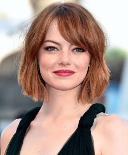 model-gaya-rambut-bob-emma-stone