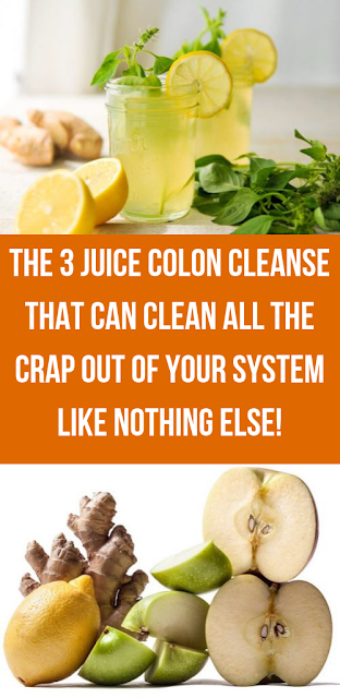 The 3 Juice Colon Cleanse That Can Clean All The Crap Out Of Your System Like Nothing Else!