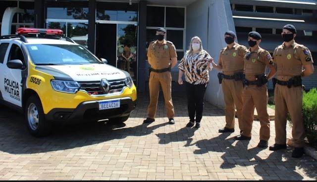 Roncador recebe nova viatura policial