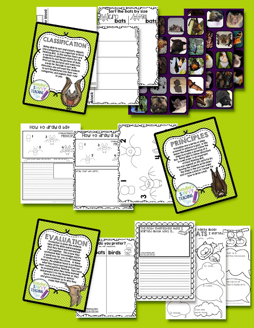 A fully complete unit about bats.  There's fantastic information about life science, life cycle, language arts, math and levelled readers too.