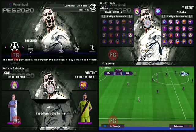 Download PES 2020 PPSSPP English Version HD Graphics