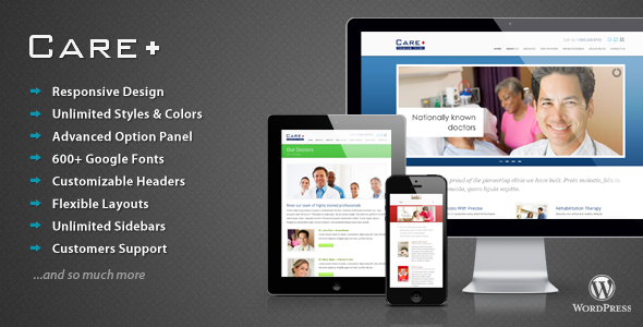 Medical and Health Related WordPress Themes