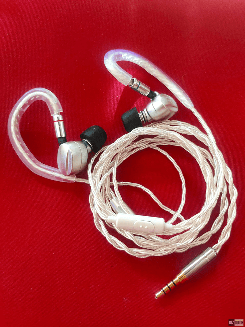 Kustoms by Overture upgraded my IEM cable for WFH!