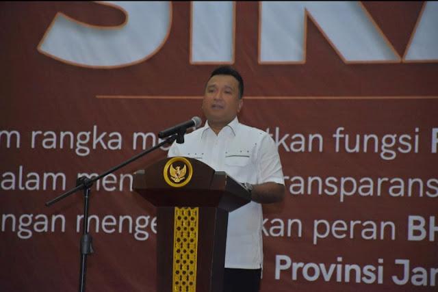 Ditreskrimsus Polda Jambi Sosialisasikan Aplikasi SIKADD Kepada Para Bhabinkamtibmas Dan Kepala Desa