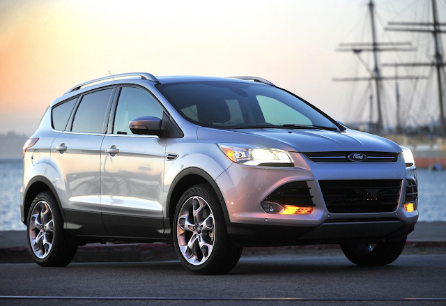2015 Ford Escape silver