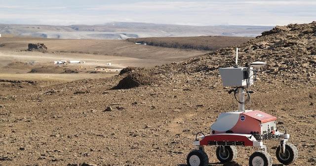 Laboratório e equipamentos da NASA na Ilha Devon