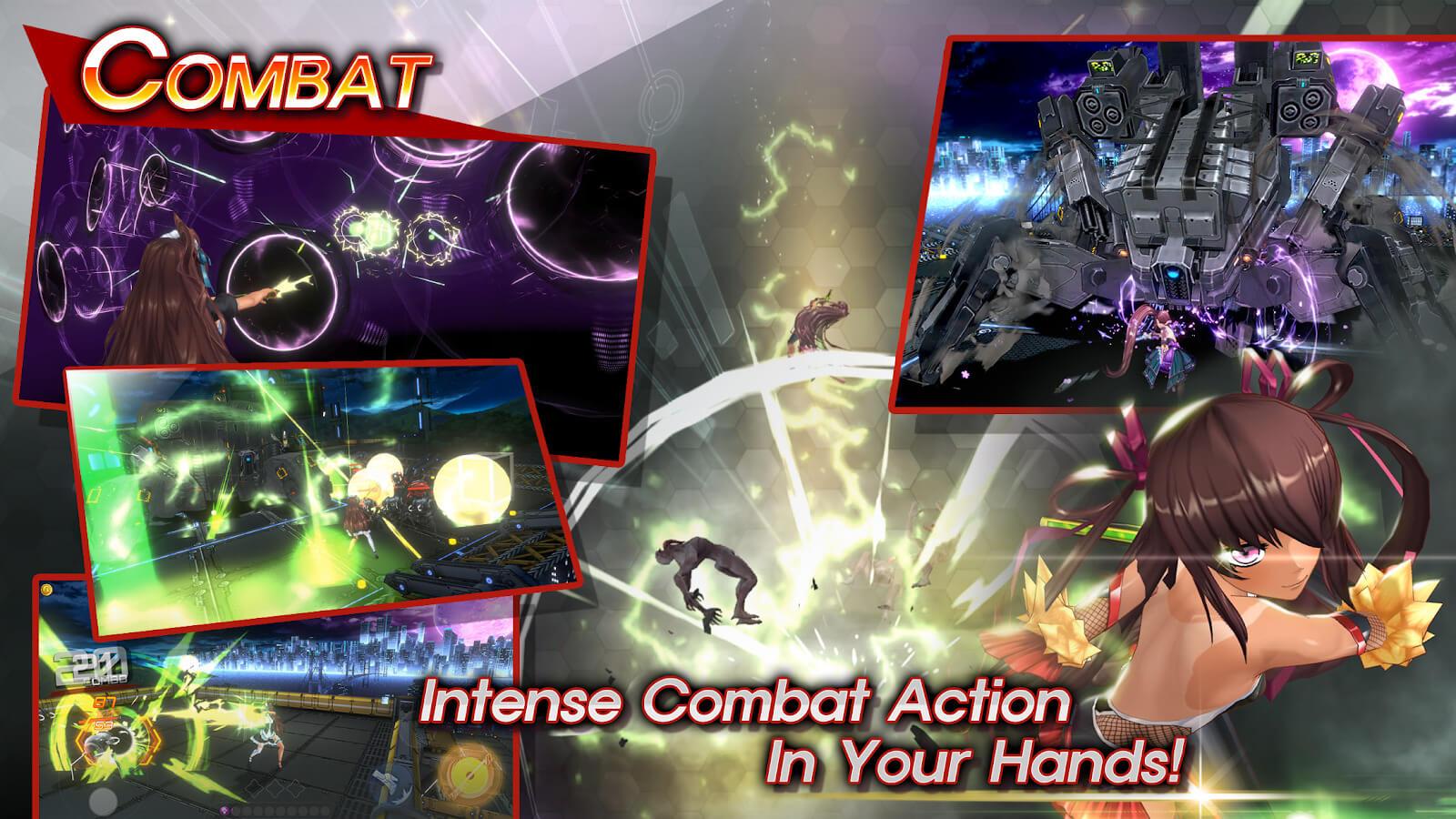 Action Taimanin combat