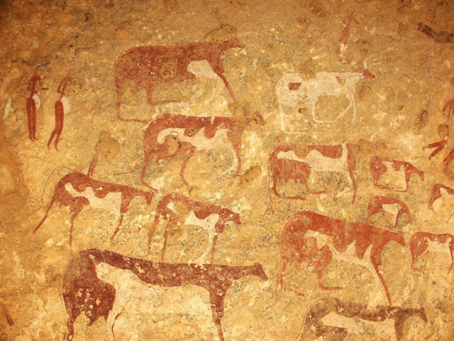 Mysterious 5,000-year history of ancient Libyan rock art revealed