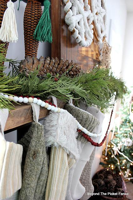 Natural Boho Christmas Home Tour