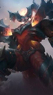 Thamuz Lord of Lava Heroes Fighter of Skins V3