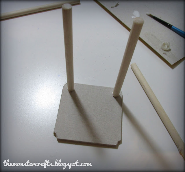 Making a chair for a doll