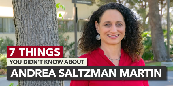 7 Things You Didn't Know About Andrea Saltzman Martin