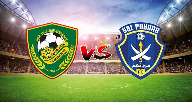 Live Streaming Kedah vs Sri Pahang FC 2.4.2021 Liga Super