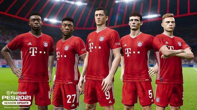 FC Bayern Munich Pes Mobile 2021