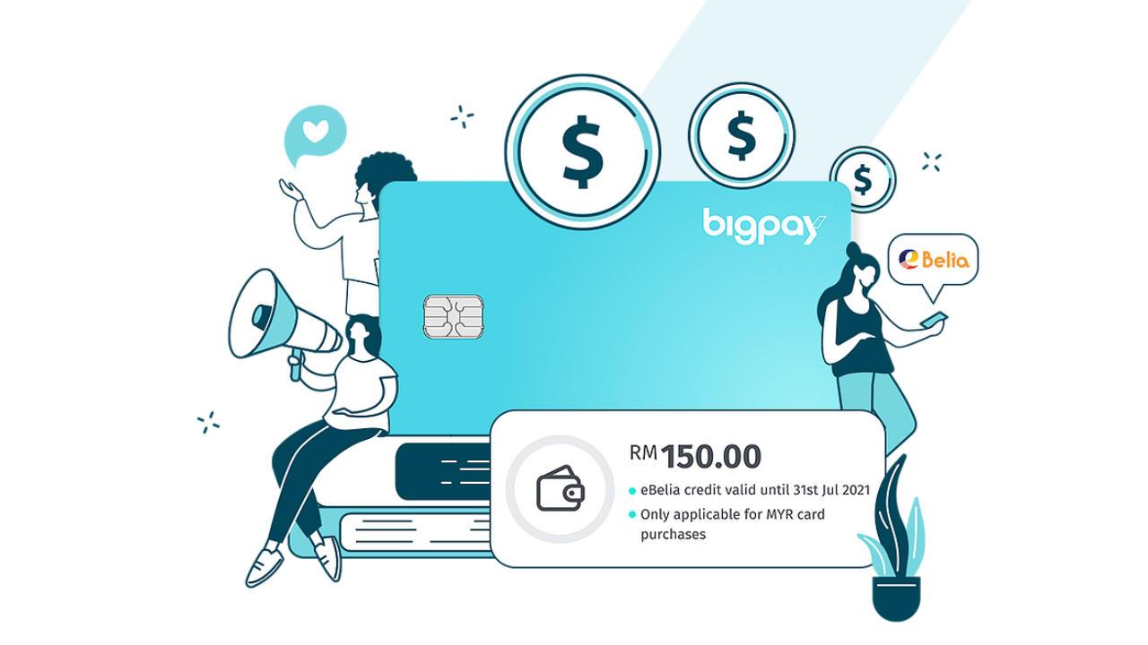 Cara Tebus eBelia RM150 Menggunakan BigPay