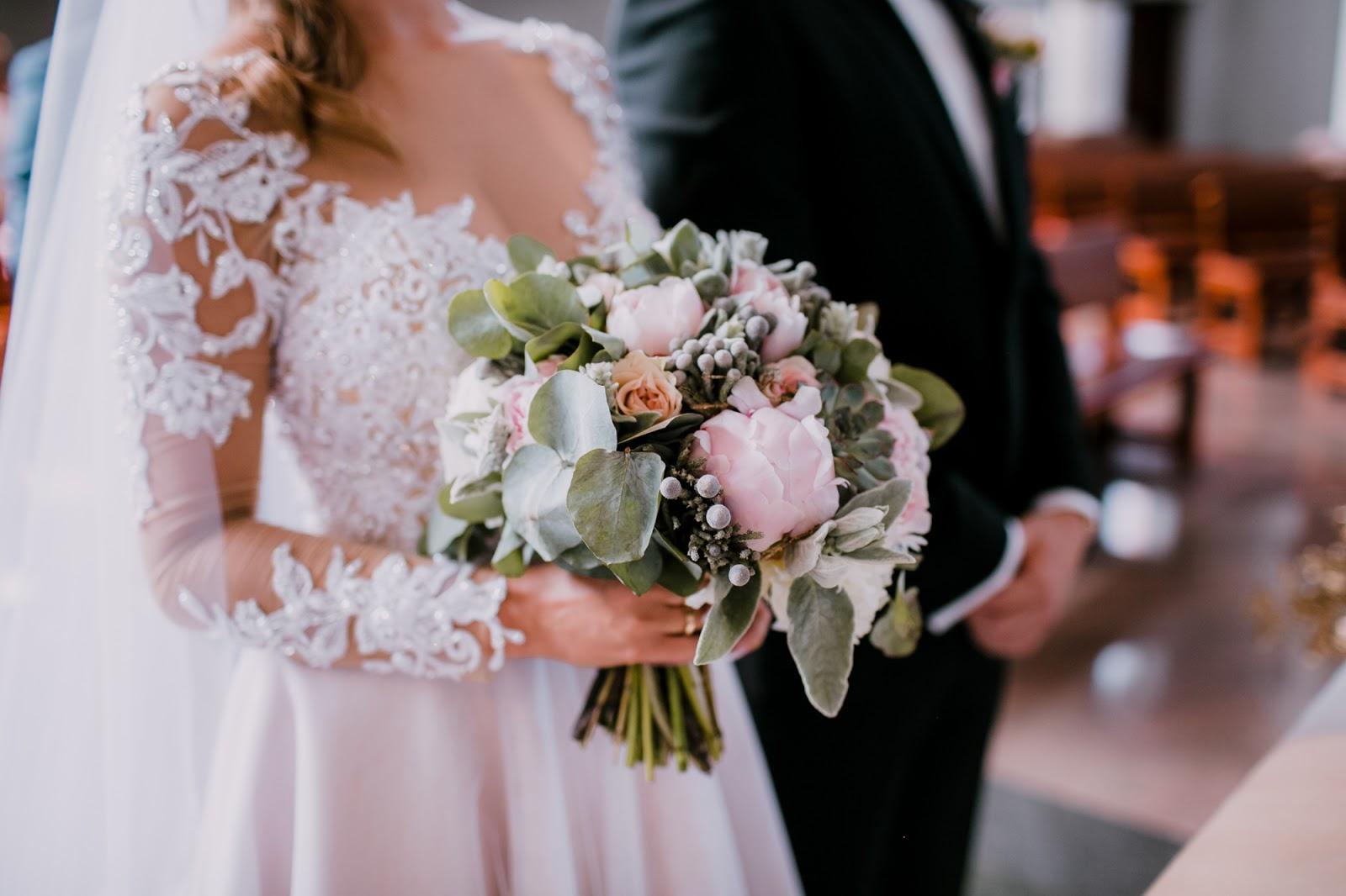 Mój Bukiet ślubny I Dekoracja Kościoła Na ślub Wedding Flowers