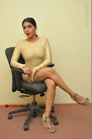 Actress Pooja Roshan Stills in Golden Short Dress at Box Movie Audio Launch  0039.JPG