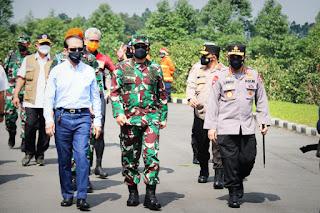 Perintah Panglima TNI dan Kapolri Terkait Masalah Penanganan Covid-19 di Kudus