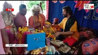 संकटमोचन हनुमान मंदिर सादलपुर पर श्रीकृष्ण जन्मोत्सव धूमधाम से मनाया