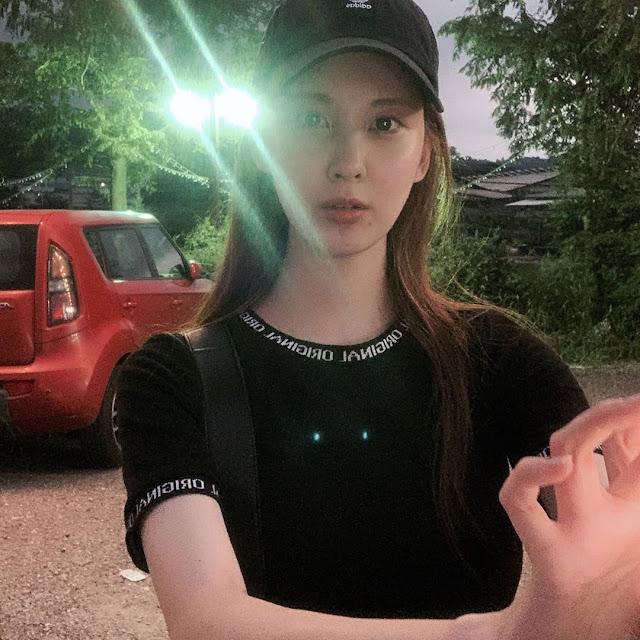 SNSD Seohyun Selfie