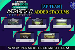 Added Stadiums For Andri Patch V2 - PES 2021