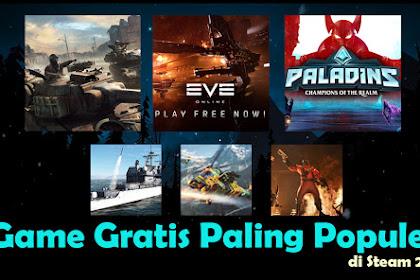 Game Gratis Paling Populer di Steam 2019