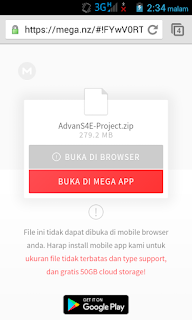 Tips Download di Mega dengan Android