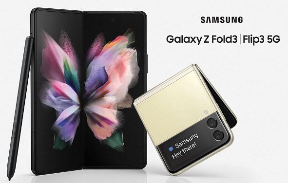 Samsung Galaxy Z Fold3 5G and Galaxy Z Flip3 5G