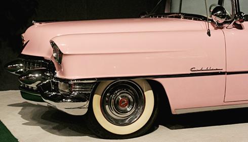 Elvis Pink Cadillac Graceland