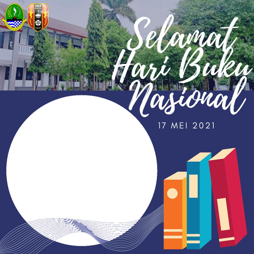 Bingkai Foto Twibbon Hari Buku Nasional 17 Mei 2021