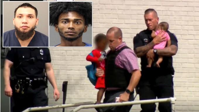Acusan de 16 cargos a presuntos atracadores hispanos que se atrincheraron por horas con niños y mujeres en motel de Rhode Island