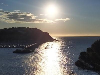Sortida de sol, al mar