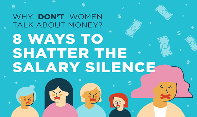 Why Women Need To Start Talking About Money #infographic