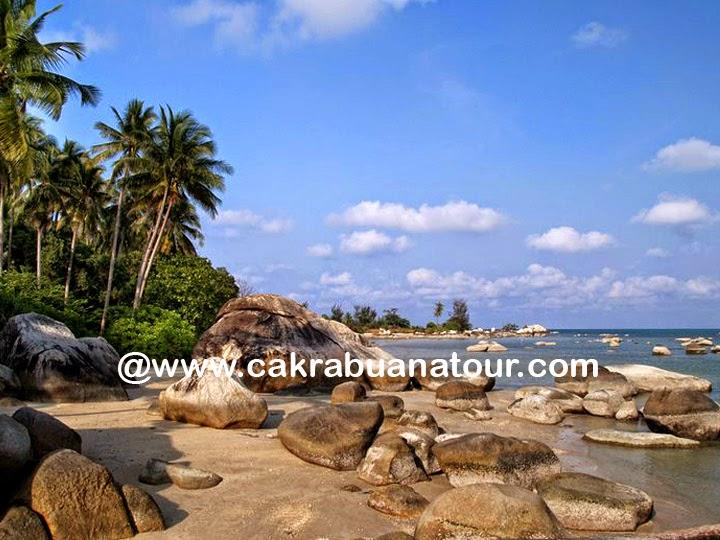 wisata Pantai Parai Tenggiri bangka belitung tour