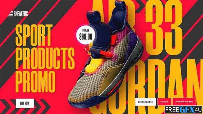 Sports Products Sale Promo Sneakers