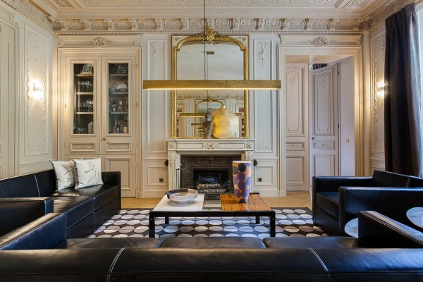 Eye For Design: Decorating Paris Apartment Style.........A Grand Mix ...