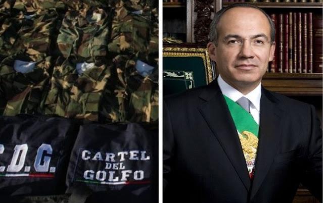 """Osiel Cardenas Guillen de  """"El Cártel del Golfo"""" trato de asesinar a Felipe Calderon  presidente de México"""