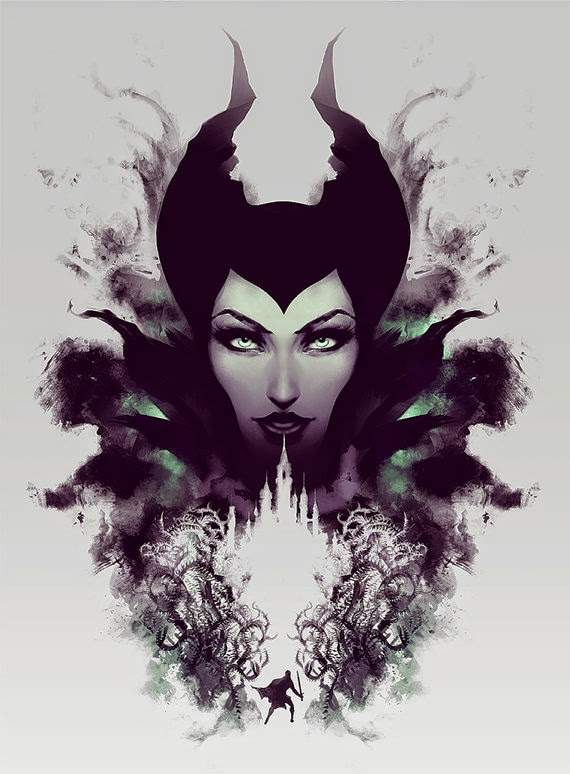 The Geeky Nerfherder Cool Art Maleficent Mistress Of All
