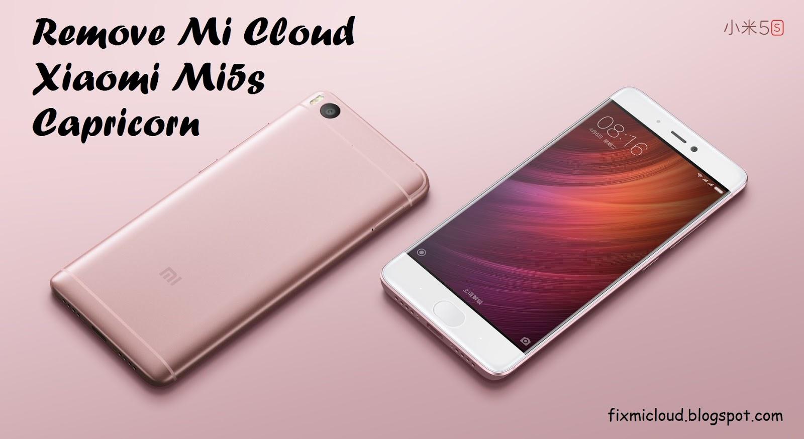 Cara Mengatasi Lupa Akun Mi Cloud Xiaomi Mi 5s Capricorn