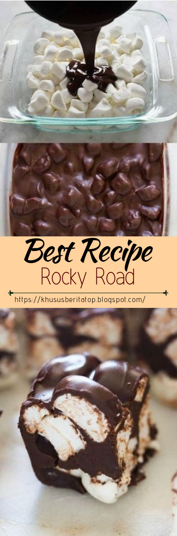 Rocky Road #desserts #cakerecipe #chocolate