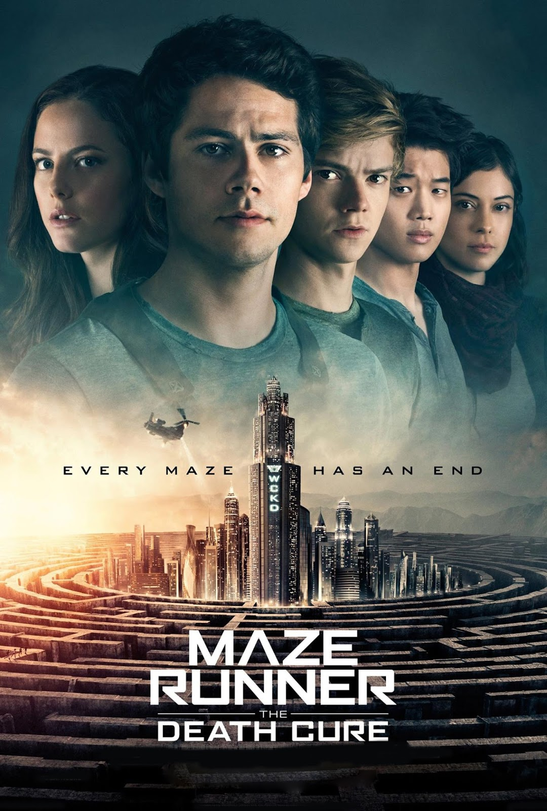 Maze Runner: The Death Cure [2018] [DVDR] [NTSC] [CUSTOM HD] [Latino Line]