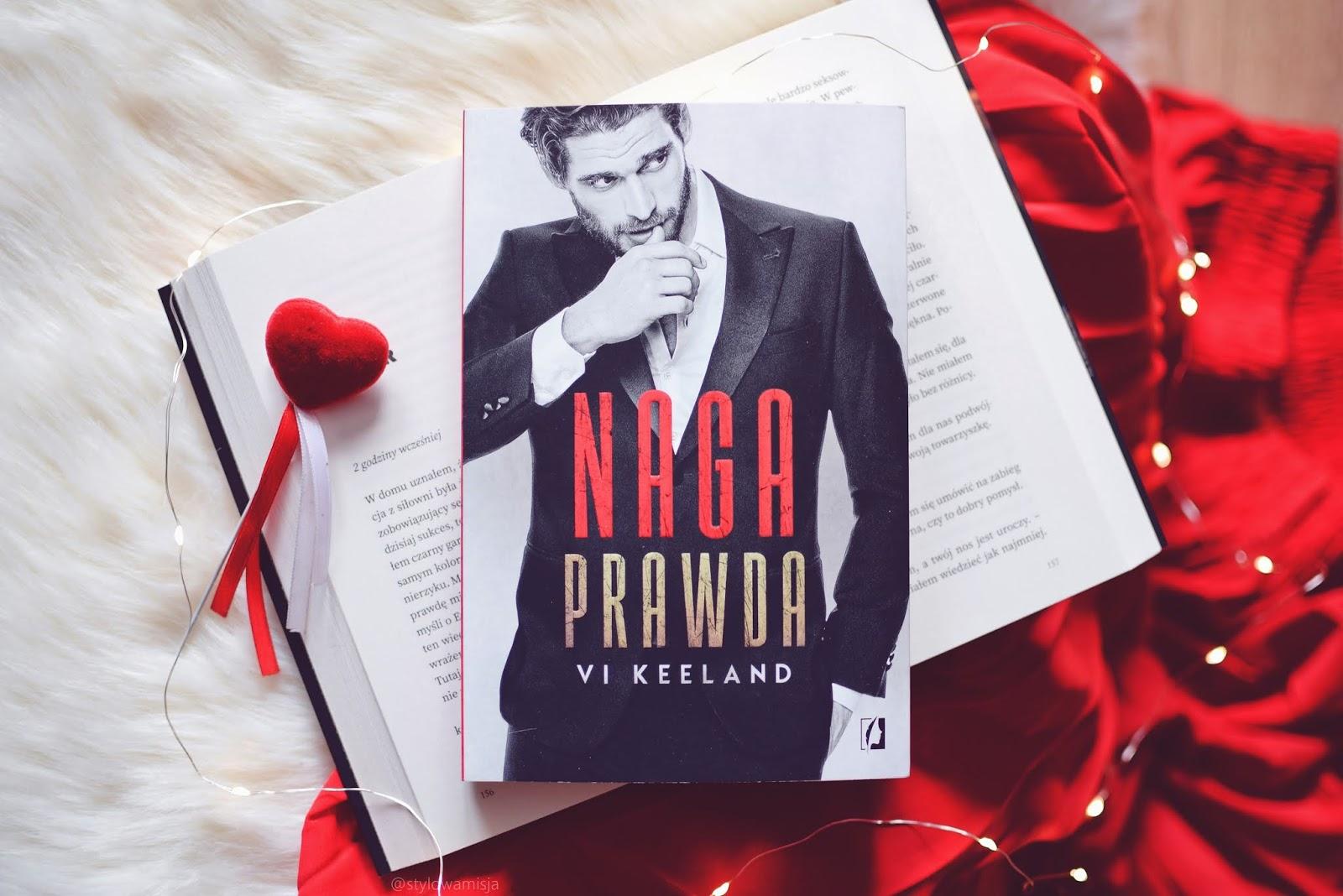 erotyk, miłość, NagaPrawda, opowiadanie, recenzja, romans, ViKeeland, WydawnictwoKobiece,