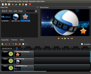 aplikasi pengeditan video terbaik openshot